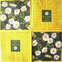 Napkin Daisy Yellow