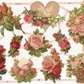 Die Cut Roses 7232