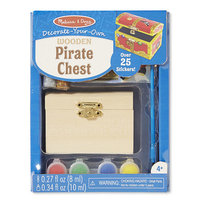 Pirate Chest Paint & Decorate